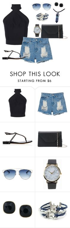 """""""inhumanly"""" by gaylien ❤ liked on Polyvore featuring Martin Grant, Monki, Tabitha Simmons, Valextra, Christian Dior, NLY Accessories and ABS by Allen Schwartz"""