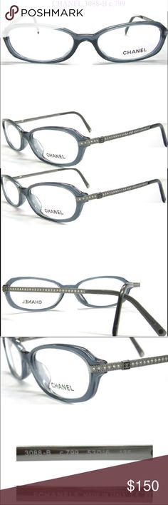 Chanel Eyeglass Frames With Rhinestones : Eyeglasses, Prada and Frames on Pinterest
