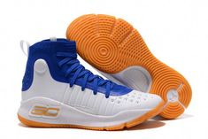 82ce459ee946 Find Under Armour Curry 4 Basketball Shoes Blue White Orange Authentic  online or in Footlocker. Shop Top Brands and the latest styles Under Armour  Curry 4 ...