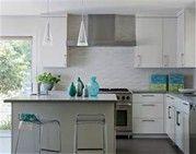Image result for White Subway Tile Backsplash