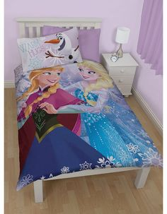 Single Disney Frozen Crystal Elsa Anna And Olaf How adorable is this magical Frozen duvet cover set! Featuring Anna, Elsa and super cut Olaf on the pillowcase, this is an absolute must have for any fan! - Set comprises of 1 single duvet cover and 1 http://www.comparestoreprices.co.uk/childrens-clothes/single-disney-frozen-crystal-elsa-anna-and-olaf.asp