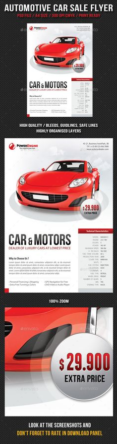 Pin by ravi mahi on Items Exhibition Pinterest - car sale flyer