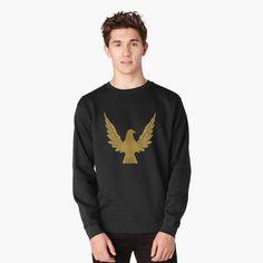 Crew Neck Sweatshirt, Graphic Sweatshirt, Pullover, Bird Design, Gourds, Hoodies, Sweatshirts, Chiffon Tops, Heather Grey