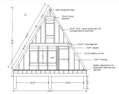 I'm uploading a few of our design drawings that people have requested.  A front and rear framing elevation (note we ended up moving the ...