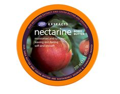 You'll love this nectarine body butter.