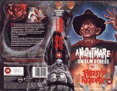 A Nightmare on Elm Street 2: Freddy's Revenge. UK release.