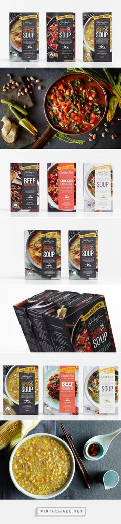 John McEwan Gourmet Food packaging design by Studio Marché - http://www.packagingoftheworld.com/2017/05/john-mcewan-gourmet-foods.html