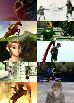 Memories.  Ocarina of Time, Majora's Mask, and Twilight Princess.