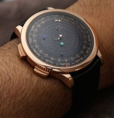 Galactic Watch Depicts Time Through Orbiting Planets The Midnight Planetarium Timepiece is an astounding show of watch craftsmanship created by the brand Brand Van Cleef & Arpels. The incredible...