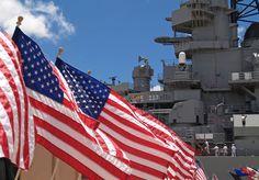 Battleship Missouri, Pearl Harbour, Hawaii