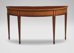 Newman Demilune Sofa Table