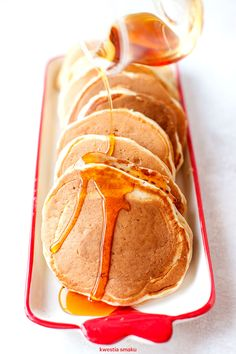 Puszyste pancakes na kefirze