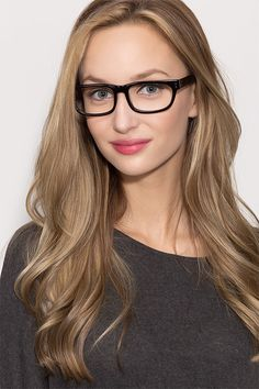4f211ae65b Oslo Black Acetate Eyeglasses from EyeBuyDirect. Discover exceptional  style