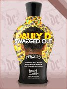 $35.99. Pauly D Swagged Out by Devoted Creations is a 100X Mega Black bronzing mixture that will give your skin an amazing dark tan that is infused with great amounts of DHA, Natural and Cosmetic Bronzers.