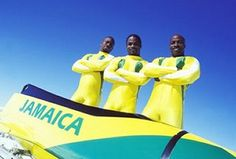 De Jamaican Bobsled Team