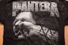 f28a33449 90s Pantera Vulgar Display of Power T-Shirt, L, Vintage 1990s, All Over  Full Print, Two-Sided, Heavy Metal Rock Band Graphic Tee