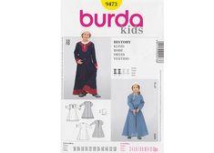 Patron enfant robe paysanne - Patron Burda 7473