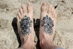 Foot Bones Tattoo For Men photo - 5
