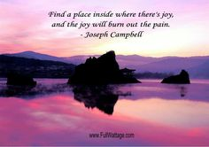 Find a place inside ...