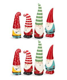 Another great find on #zulily! Mini Gnomes Salt & Pepper Shakers Set #zulilyfinds