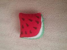 Felt watermelon