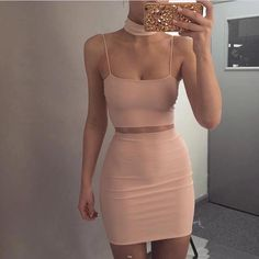 2017 Summer New Bandage Dress Stretch Tight Nightclub Lady Birthday Party Banquet Sexy Package Hip Leisure Holiday Color Wild Sexy Dresses, Cute Dresses, Fashion Dresses, Bandage Dresses, 90s Fashion, Girl Fashion, Kohls Dresses, Fashion Hats, Dresses Dresses