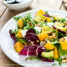 Salade met mango recept