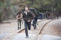 """The Walking Dead"" could last for a very, very long time.  Alpert was asked what it was like working from a pre-existing product.   ""I happe..."