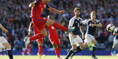 VIDEO GOL SCOZIA-INGHILTERRA 2-2 La Scozia mette in difficoltà l'Inghilterra con una prestazione di grande cuore, dopo un finale mozzafiato  Rimonta un gol di svantaggio con due gol da calcio di punizione di Griffiths all'87' e 90 #scozia #inghilterra #videogol