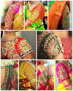 Handmade Embroidery Designs for Sarees . 59 Fresh Handmade Embroidery Designs for Sarees . Wedding Saree Blouse Designs, Pattu Saree Blouse Designs, Blouse Neck Designs, Sleeve Designs, Saree Blouse Patterns, Latest Maggam Work Blouses, Handmade Embroidery Designs, Sari Bluse, Maggam Work Designs