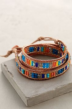 Castillo Wrap Bracelet #anthropologie