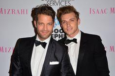 """Pin for Later: Alle Stars, die sich 2014 getraut haben Nate Berkus und Jeremiah Brent Die beiden TV-Stars sagten vor 200 geladenen Gästen in New York """"JA"""" zueinander."""