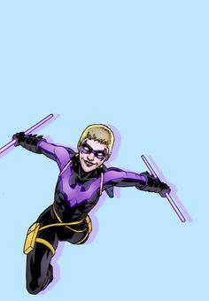 Stephanie Brown as Nightwing in Batgirl Nightwing, Batgirl, Cassandra Cain, Stephanie Brown, Barbara Gordon, Batman, Bat Family, Robin, Joker