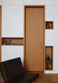 Interior of Alia Bengana apartment in Paris