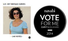 Find My Pictures, Vote Now, Curvy Style, Curvy Fashion, Curves, Awards, Sign, Guys