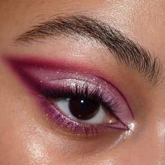 Edgy Makeup, Makeup Eye Looks, Eye Makeup Art, Cute Makeup, Makeup Goals, Pretty Makeup, Skin Makeup, Makeup Inspo, Makeup Inspiration