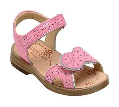 Startrite Brooke Girls Pink Patent Leather Summer Sandals Velcro Size 7 8 13.5 F