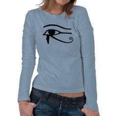 Eye Of Horus Ladies Longs Sleeve Tee