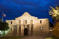 San Antonio, Texas, The Alamo.