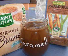 Recette Caramel au beurre salé par JAMET - recette de la catégorie Sauces, dips et pâtes à tartiner