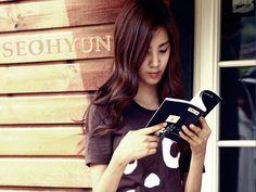 seohyun loves to read books!!haha..#seohyun,#kpop,#snsd