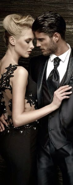 A Fine Romance ~ Dress beautifully for and evening with someone special.