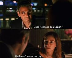 Ocean's eleven~George Clooney and Julia Roberts Ocean's Movies, Movies And Series, Great Movies, Film Movie, Scenes From Movies, Favorite Movie Quotes, Famous Movie Quotes, Tv Show Quotes, Quotes From Movies
