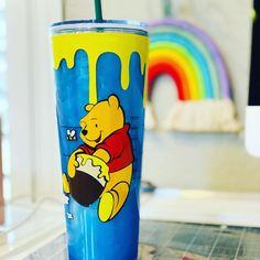 Selling Handmade Items, Handmade Gifts, Birthday Candy, Tumbler Cups, Custom Tumblers, Logo Ideas, Winnie The Pooh, Starbucks, Snow Globes