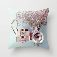 Throw Pillows by Poulette Magique | Society6