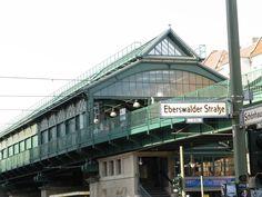 Eberswalder Straße U-Bahnhof, Prenzlauer Berg, Berlin, Germany