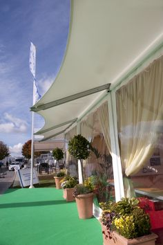 the new hayling frame adds a traditional twist to any 9m marquee frame - Traditional Canopy 2016