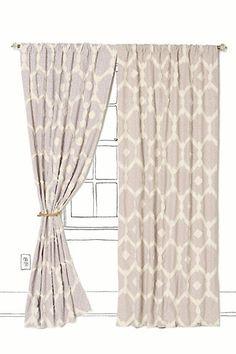 A Gorgeous Neutral Curtain