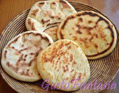 Pane arabo cotto in padella