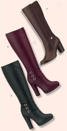 Botas de Andrea para el Otoño. Zapatos Andrea de Moda